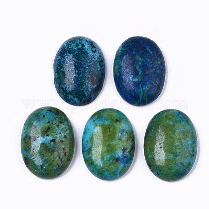 Natural Rhyolite Jasper CabochonsX-G-T062-18-1