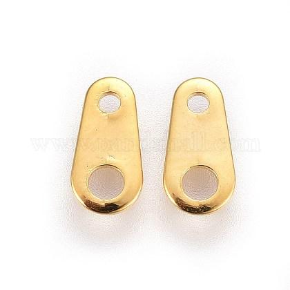 316 lengüetas de cadena de acero inoxidable quirúrgicoSTAS-I100-30A-G-1