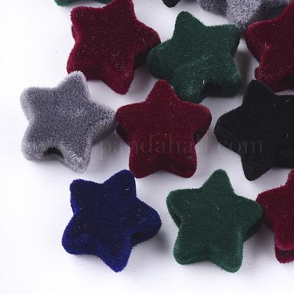 Abalorios de acrílico flockyFIND-T046-36-1