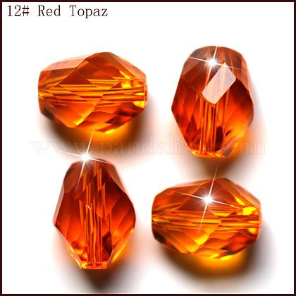 Imitation Austrian Crystal BeadsSWAR-F077-13x10mm-12-1