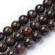 Natural Bronzite Beads StrandsG-S272-01-4mm-1