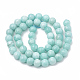 Natural Amazonite Beads Strands G-S333-8mm-005-3