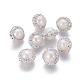 Perlas naturales abalorios de agua dulce cultivadasPEAR-F015-18B-1