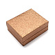Rectangle Plastic Pendant Necklace BoxesOBOX-S001-03-1