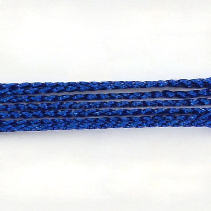 Cuerdas metálicas rebordear no elástico trenzadoMCOR-R002-1mm-08-1