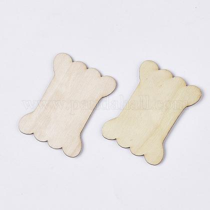 Неокрашенные деревянные намоточные доскиWOOD-T011-53B-1