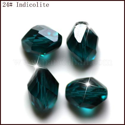Imitation Austrian Crystal BeadsSWAR-F077-9x6mm-24-1