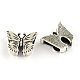Tibetan Style Alloy Butterfly Slide CharmsTIBEB-Q064-81AS-RS-1