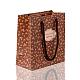 Bolsas de papel rosa impresas rectangularesCARB-F001-07A-2