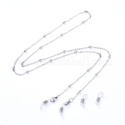 304 Stainless Steel Eyeglasses Chains AJEW-EH00013-1