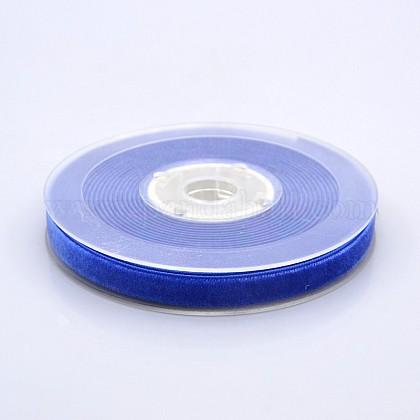 Ruban de velours en polyester pour emballage de cadeaux et décoration de festivalSRIB-M001-10mm-352-1