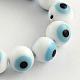 Main ronde perles au chalumeau mauvais œil brinsLAMP-R114-8mm-07-1