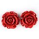 Rose Flower Cinnabar LinksCARL-Q004-72-1