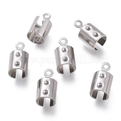 Extremos plegables de 304 acero inoxidable engarzadoSTAS-O130-03C-1