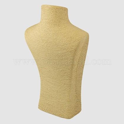 立体的なネックレスの胸像が表示されますNDIS-E018-A-01-1