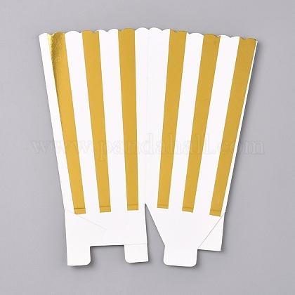Cajas de palomitas de maíz con papel de rayasCON-L019-A-01A-1