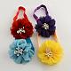 Flores de tela accesorios para el cabello cintas para la cabeza del bebé elástica para bebésOHAR-Q002-21-1