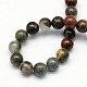 Natural African Bloodstone Beads Strands G-S184-8mm-2