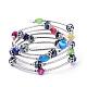 5 Loops Wrap BraceletsBJEW-JB04369-M-2
