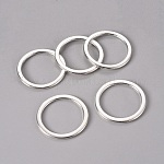 Alloy Linking Rings, Circle Frames, Lead Free and Cadmium Free, Antique Silver, 30x2mm, Hole: 24mm