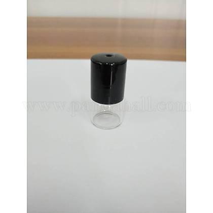 ガラスのエッセンシャルオイルの空の香水瓶X-CON-WH0013-01B-1ml-1