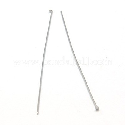 Jewelry Tools and Equipment Decorative Stainless Steel Flat Head PinsX-STAS-E023-0.6x50mm-1