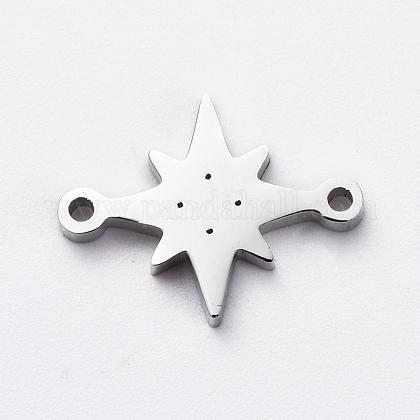 304 Edelstahl-Verbindungsstecker für die SchmuckherstellungX-STAS-G215-30P-1
