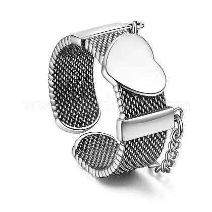 SHEGRACE® 925 Thai Sterling Silver Finger RingsJR802A-1