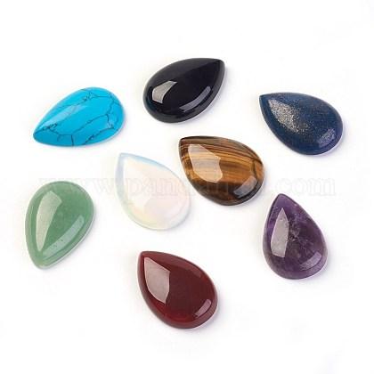 Cabuchones de piedras preciosas mixtosG-H1598-DR-30x20-M-1