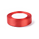 Red Satin Ribbon for DIY Craft Hair AccessoriesX-RC25mmY026-1