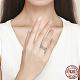 Anillos de dedo de plata 925 esterlinaRJEW-FF0010-08AS-16mm-3