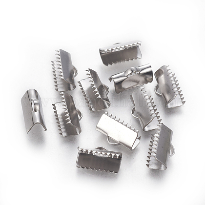 304ステンレス鋼リボンカシメエンドパーツSTAS-E471-05E-P-1