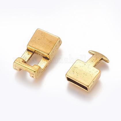 チベット風合金スナップロッククラスプGLF11313Y-NF-1