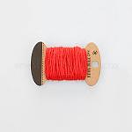 麻紐, 麻紐, 麻ひも, 3プライ, ジュエリー作りのための, レッド, 2mm; 10m /板
