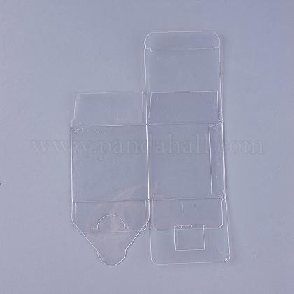Transparent Plastic PVC Box Gift PackagingCON-WH0060-01B-1