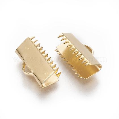 304ステンレス鋼リボンカシメエンドパーツSTAS-E471-05F-G-1