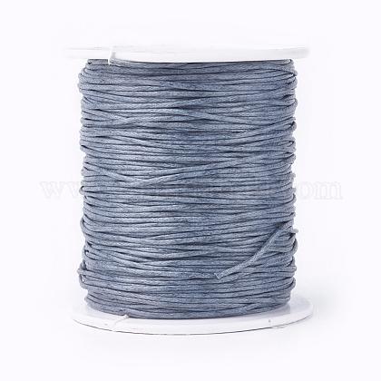 Cordones de hilo de algodón enceradoYC-R003-1.0mm-319-1