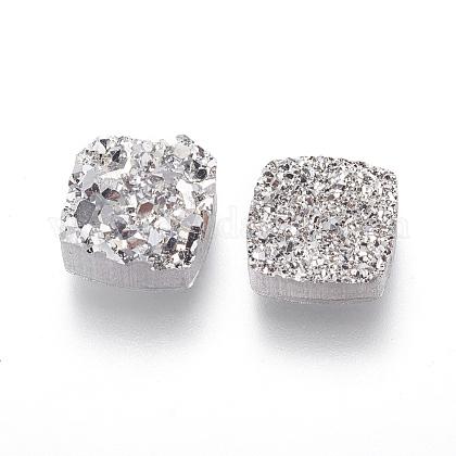 Perlas de resina de piedras preciosas druzy imitaciónRESI-L026-K03-1