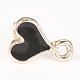 Alloy Enamel Stud Earring FindingsPALLOY-S106-41B-NF-1