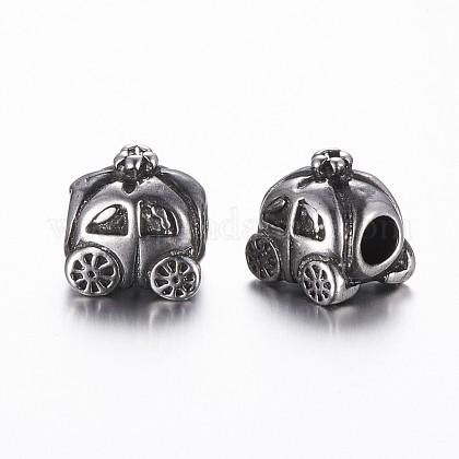 304 Stainless Steel European BeadsSTAS-A032-006AS-1