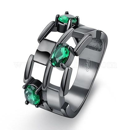 Модные полые кольца из латуниRJEW-BB20239-A-9-1