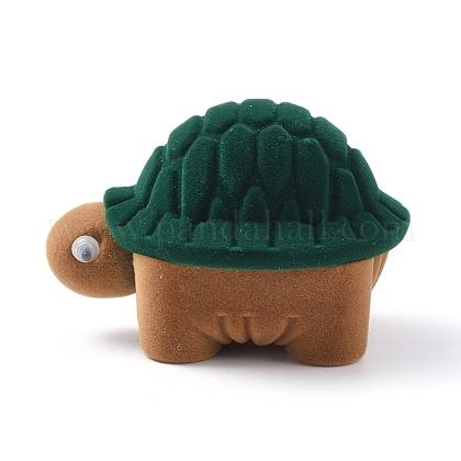 Бархатные шкатулки в форме черепахиVBOX-L002-B02-1
