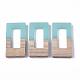 Colgantes de resina y madera de nogalRESI-S358-26A-1
