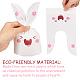 Animaux thème sacs en plastique et fleurs sac de papier floralABAG-PH0002-32-6