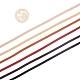 Los juegos de cordones de ante de imitaciónLW-YW0001-01A-6