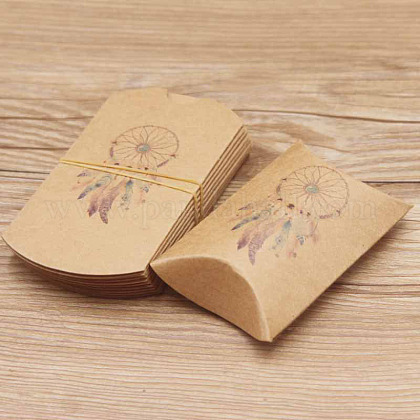 Paper Pillow Gift Boxes CON-J002-S-17A-1