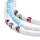 Glass Seed Beads Chain BeltsNJEW-C00011-3