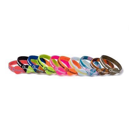 Free Sample Silicone Wristbands BraceletsBJEW-K165-01B-1