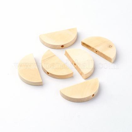 Cuentas de madera sin terminarX-WOOD-Q024-08-1