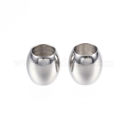 Abalorios de 304 acero inoxidableX-STAS-D448-047P-1